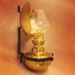 Bistrolampan - 6''' vägglampa i mässing