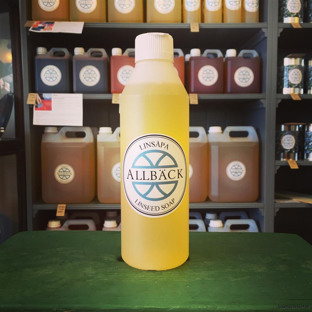 linsåpa linoljesåpa allbäck allbäcks ystad linoljeprodukt