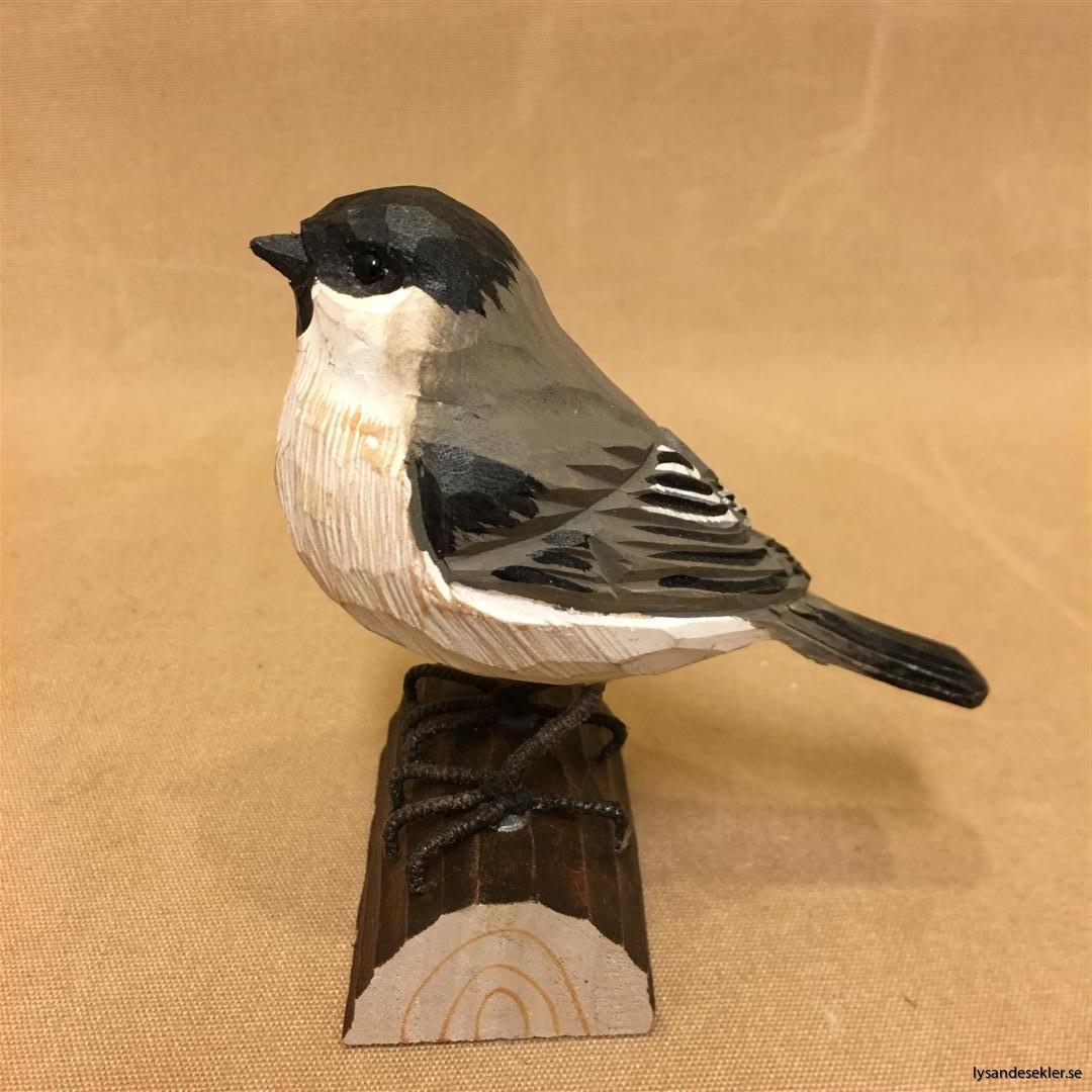 entita  handsnidad fågel trä snidad naturlig storlek dekoration (1)