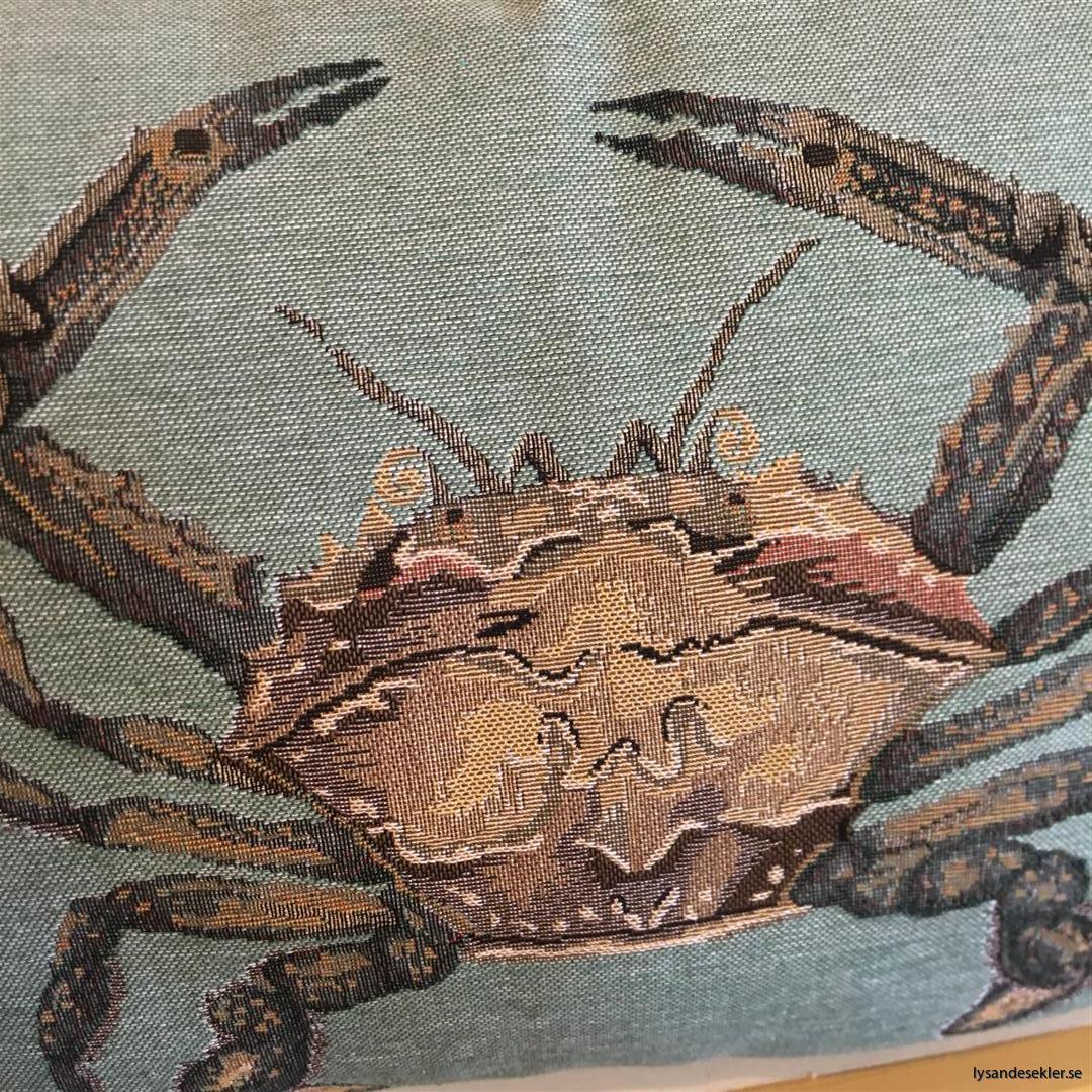 kudde krabba crab prydnadskudde (4)