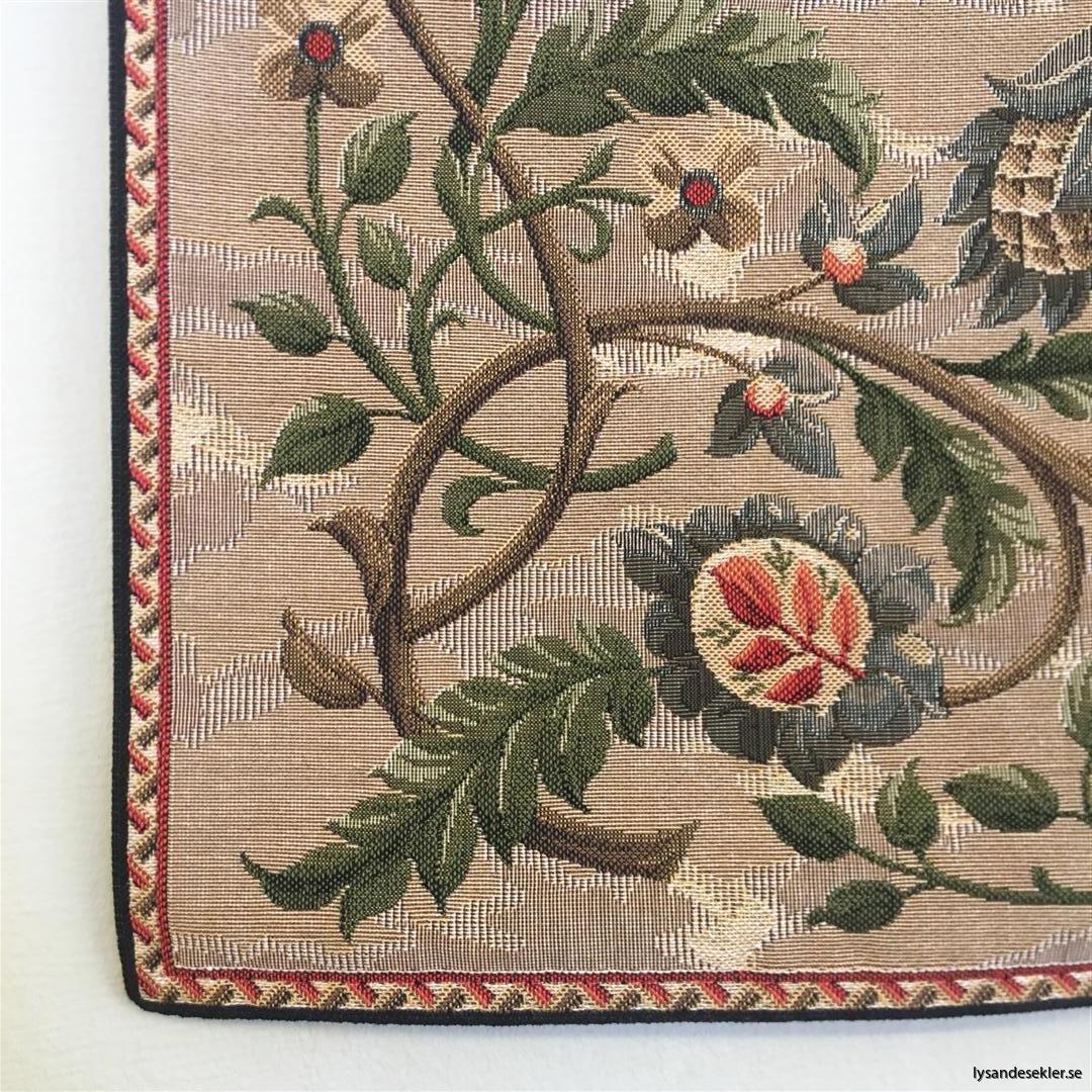 gobeläng väggobeläng textil tyggobeläng textilgobeläng tyg väggprydnad väggtyg william morris tree of life livets träd (4)