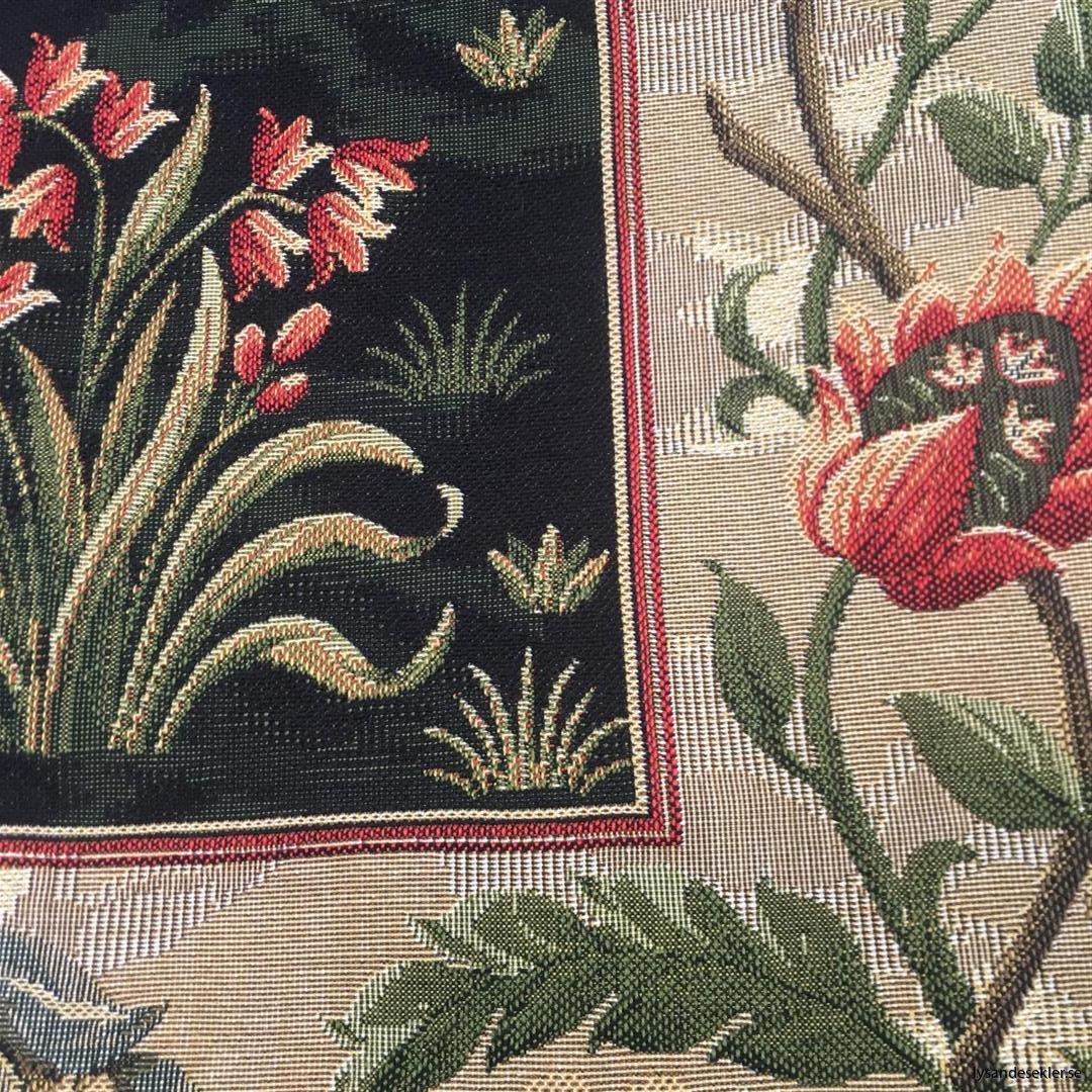 gobeläng väggobeläng textil tyggobeläng textilgobeläng tyg väggprydnad väggtyg william morris tree of life livets träd (6)