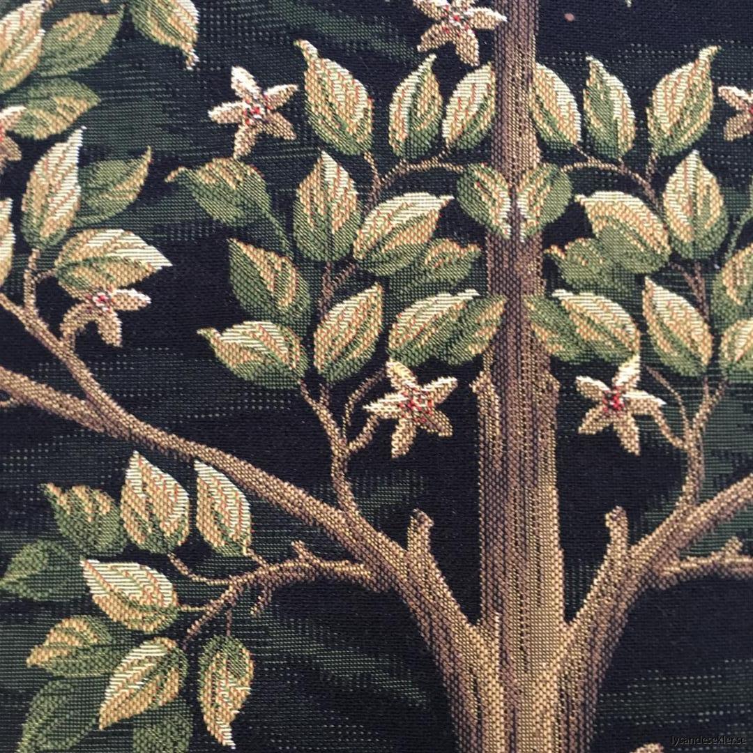 gobeläng väggobeläng textil tyggobeläng textilgobeläng tyg väggprydnad väggtyg william morris tree of life livets träd (7)