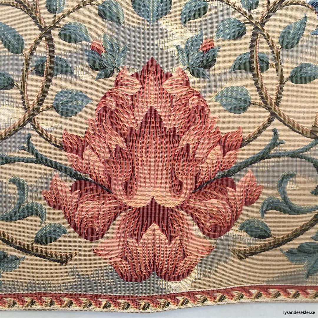 gobeläng väggobeläng textil tyggobeläng textilgobeläng tyg väggprydnad väggtyg william morris tree of life livets träd (8)