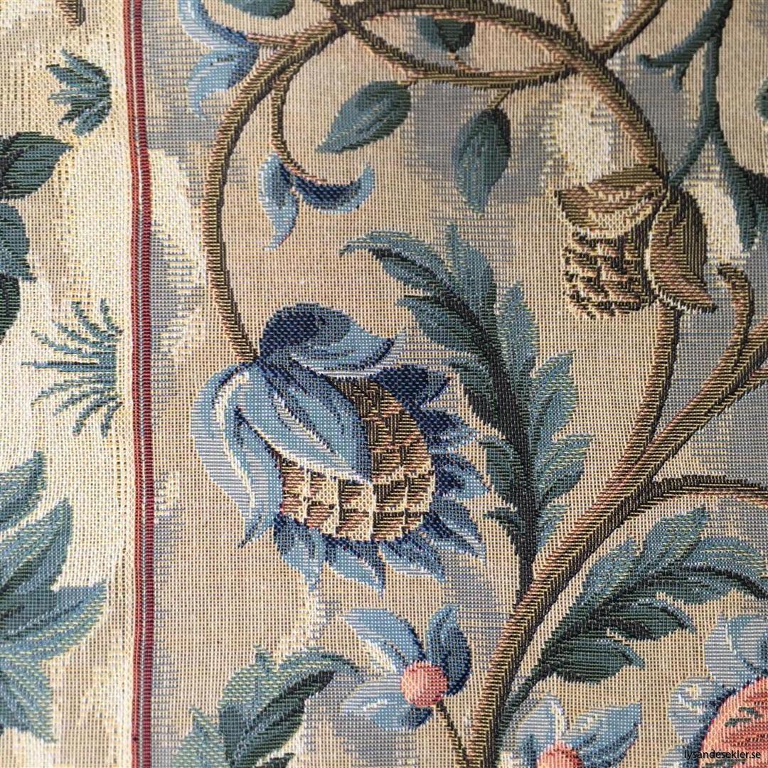 gobeläng väggobeläng textil tyggobeläng textilgobeläng tyg väggprydnad väggtyg william morris tree of life livets träd (9)