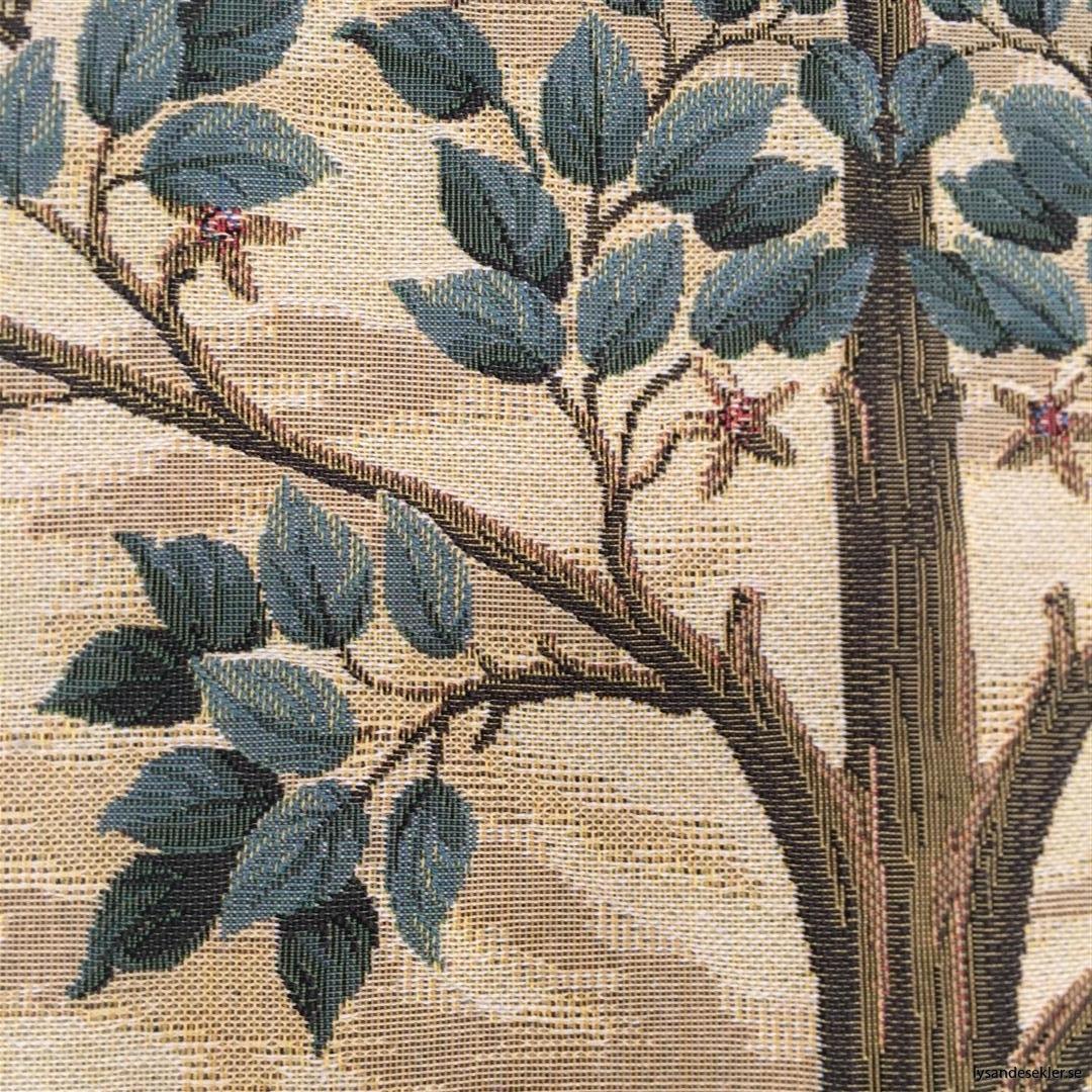 gobeläng väggobeläng textil tyggobeläng textilgobeläng tyg väggprydnad väggtyg william morris tree of life livets träd (10)