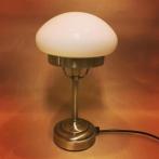 Strindbergslampa mini med opalvit skärm