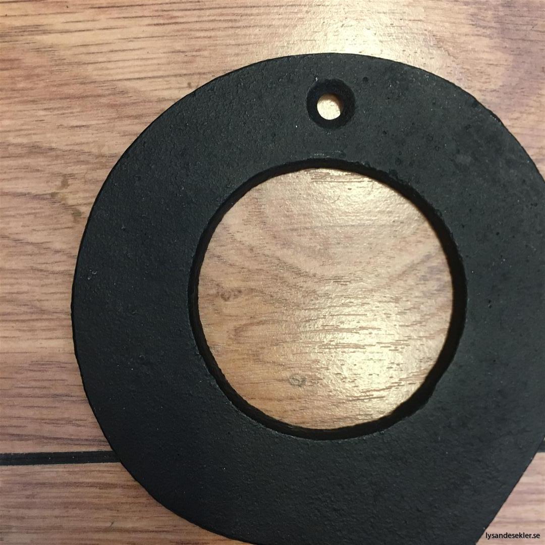 hussiffra gjutjärn svart siffra väggsiffra järn