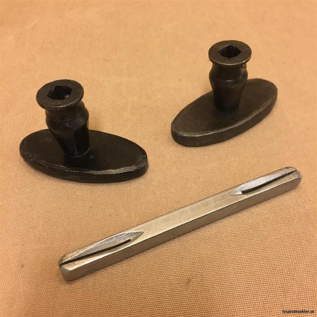 smidesrosett smidesbleck dörrbleck rosett till dörrhandtag i smide handsmitt handsmidd (14)