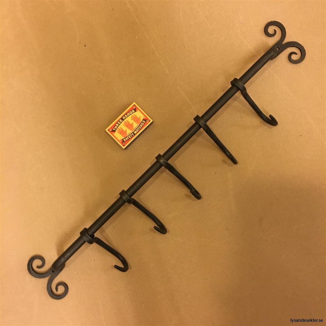 5 smideskrokar smideshängare hängare vägghängare smide (4)