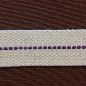 22 mm veke för flatbrännare (Veklängd: 25 cm) (Vekar till fotogenlampor) - 22 mm bred veke i bomull (tunnare sort)