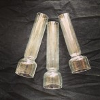 32 mm - Linjeglas 3''' rak modell - 2:a sortering (Glas till fotogenlampa)