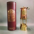 Gruvlykta Miner's Lamp - mässing/koppar - stor 26 cm