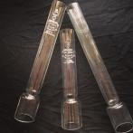 34 mm - Linjeglas 6''' - stämplade äldre TEXA (Glas till fotogenlampa)