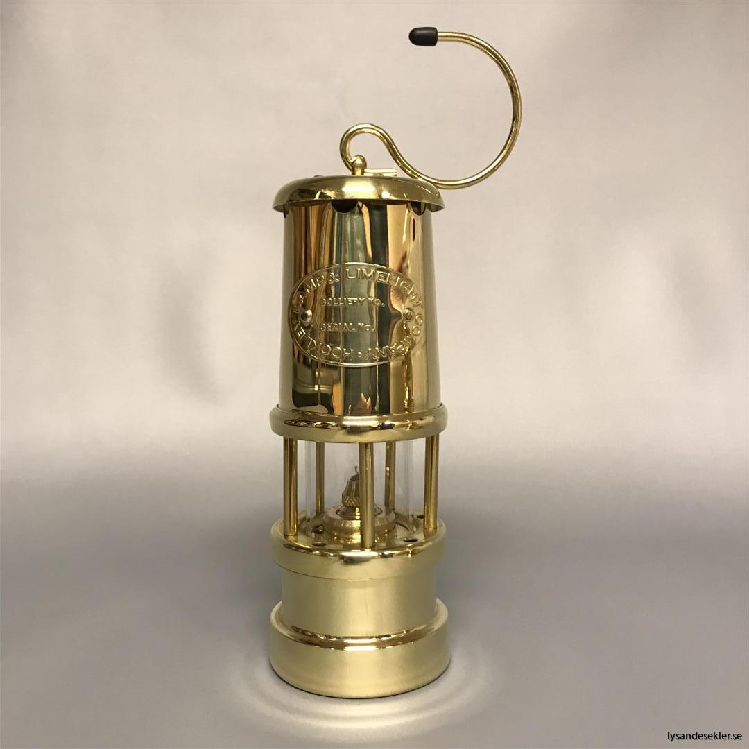 gruvlykta miners lamp liten