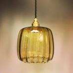 Unik lampa med tygsladd (äldre)