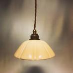 Fönsterlampa med tygsladd (äldre)