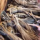 Hampdocka med tunn tjärad tråd 20 meter