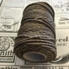 Tjärat snöre dubbeltvinnat polerat - Rulle tjärad hampa 6/3(ca 2 mm)