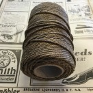 Tjärat snöre dubbeltvinnat polerat - Rulle tjärad hampa 6/4(ca 1,5 mm)