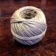 Äkta hampnystan dubbeltvinnat polerat - Hampnystan 6/4 (cirka 1,6 mm) 200gram (litet nystan)