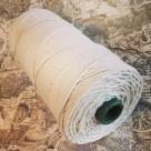 Oblekt bomull 1,6 mm snöre - 500 gram på rulle