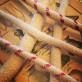Snörveke stor 10 mm - rund (Veklängd: 25 cm) (Fotogenlampsveke)