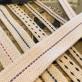 10 mm veke för flatbrännare (Veklängd: 25 cm) (Vekar till fotogenlampor)
