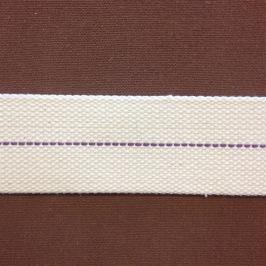 Veke 42 mm för 8''' rundbrännare (Veklängd: 25 cm) (Veke till fotogenlampa) - 42 mm (8''' veke) - 25 cm lång