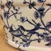Kruka - oval blå fågel