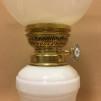 Herrgårdslampan 14''' - Herrgårdslampan blank mässing fotogenmodell