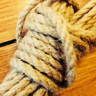 Hampdocka 4 mm - 10 meter - Hampdocka 4 mm - 10 meter av obehandlad hampa