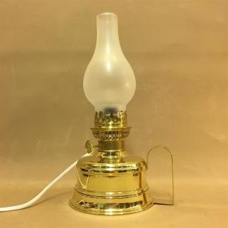 Brasserielampan - elektrifierad - Brasserielampan blank mässing ELEKTRISK