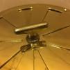 Rosettventil 175 mm i mässing