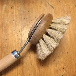 Diskborste trä och svinborst - Diskborste i trä