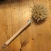 Diskborste trä och svinborst