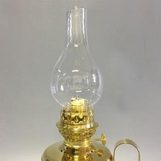 Brasserielampan 14''' mässing 30 cm - Brasserielampan polerad mässing LÖKFORMAT  linjeglas