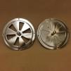 Rosettventil 125 mm i rostfritt stål