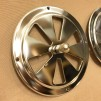 Rosettventil 125 mm i rostfritt stål - Rosettventil rostfritt stål