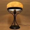 Strindbergslampa 235mm gulmarmorerad