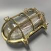 Oval gallerarmatur stor - mässing - Största ovala i polerad mässing