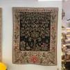 Gobeläng i jugend (William Morris) - SVART gobeläng Livets Träd