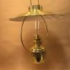 Cabinlamp i mässing 14'''