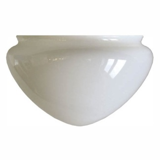Ampelskärm opalvit 200 mm - Ampelskärm opalvit 200 mm i diameter