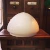 Ampelskärm opalvit 200 mm