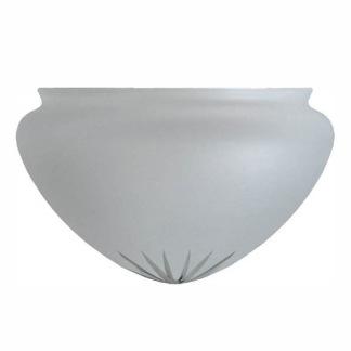 Ampelskärm frostad 200 mm - Ampelskärm frostad 200 mm i diameter