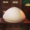Ampelskärm opalvit 235 mm