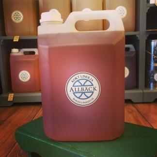 Linolja kokt 5 liter - Kokt Linolja - 5 liters dunk