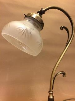 Jugendlampan med slipad frostad skärm - Jugendlampan med slipad frostad skärm
