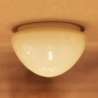 Ampelskärm vanilj 200 mm - Ampelskärm gulvit 200 mm i diameter